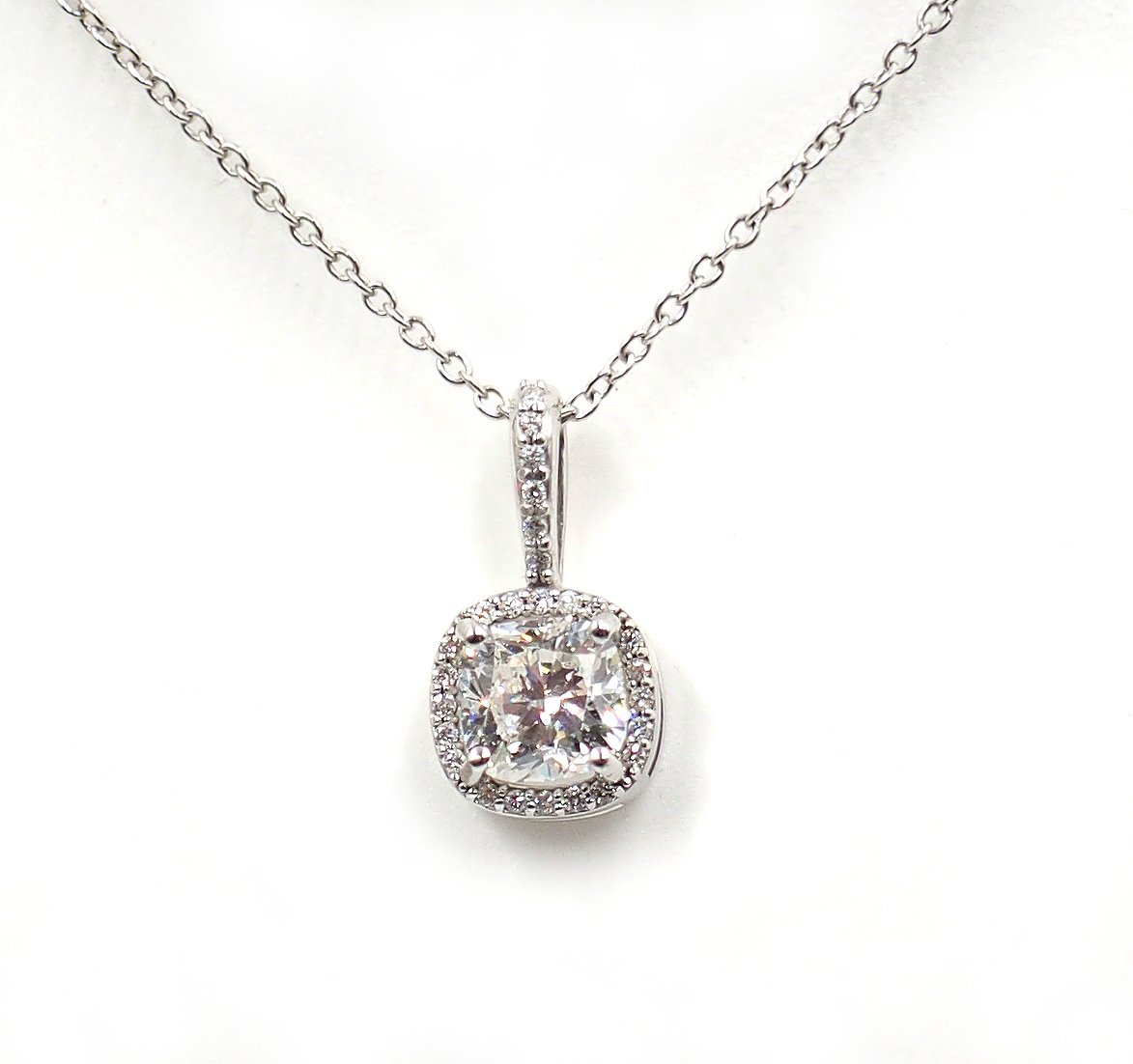 Saettele Custom 1 ct Necklace