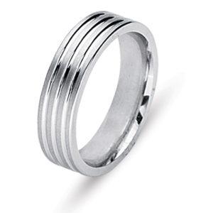 Samuel Jewels Engraved Wedding Ring
