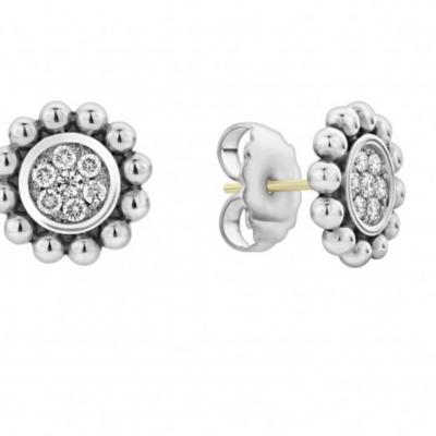 Caviar Spark Diamond Earrings