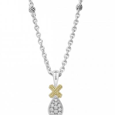 Caviar Lux Diamond Pendant Necklace